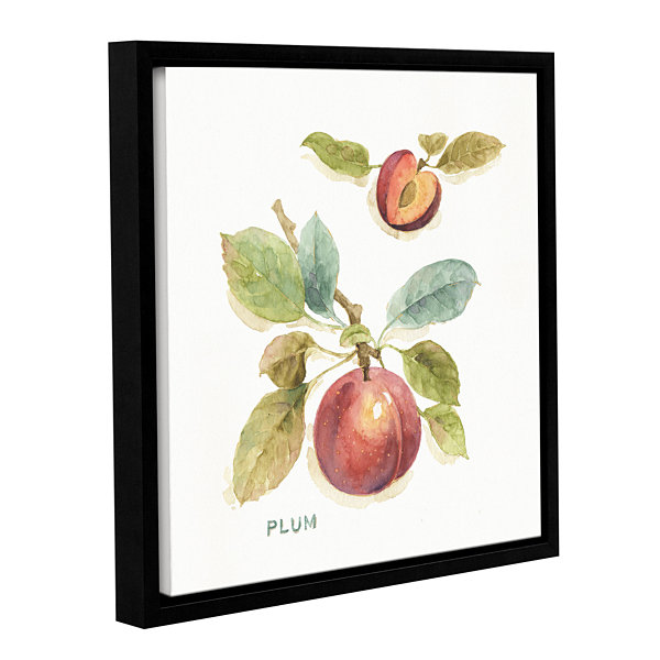 Brushstone Orchard Bloom IV Gallery Wrapped Floater-Framed Canvas Wall Art