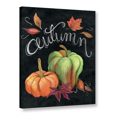 Brushstone Autumn Harvest I Gallery Wrapped CanvasWall Art