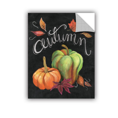 Brushstone Autumn Harvest I Removable Wall Decal