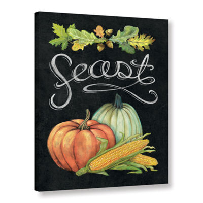 Brushstone Autumn Harvest II Gallery Wrapped Canvas Wall Art