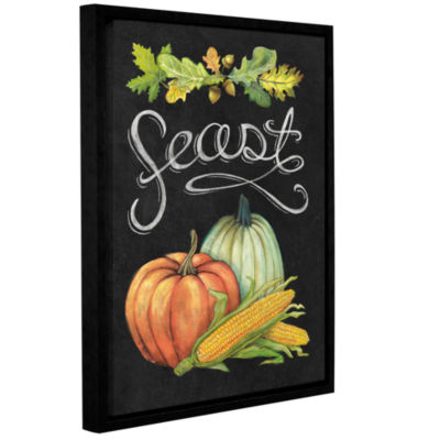 Brushstone Autumn Harvest II Gallery Wrapped Floater-Framed Canvas Wall Art