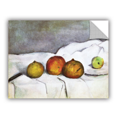 Brushstone Fruit on a Cloth Removable Wall Decal