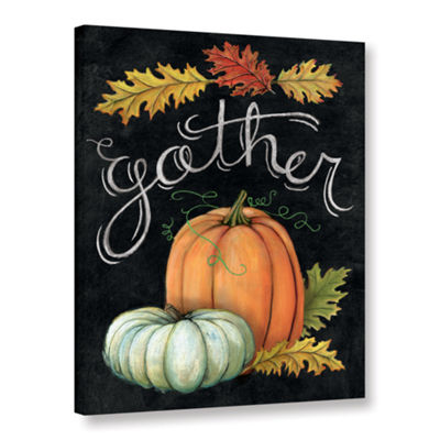 Brushstone Autumn Harvest III Gallery Wrapped Canvas Wall Art