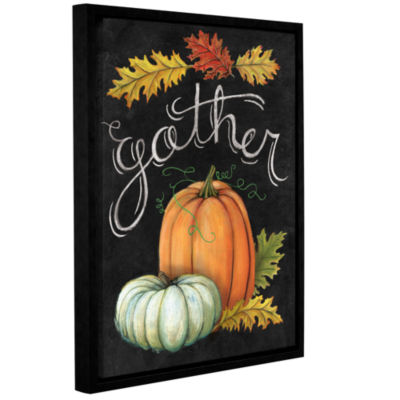 Brushstone Autumn Harvest III Gallery Wrapped Floater-Framed Canvas Wall Art