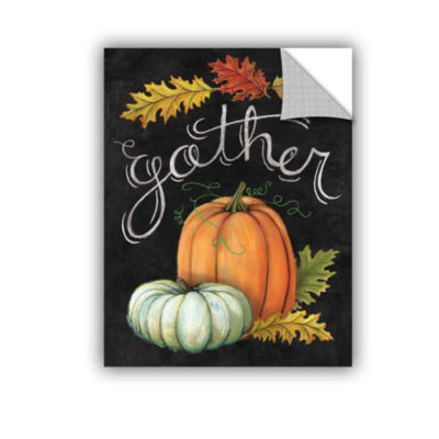 Brushstone Autumn Harvest III Removable Wall Decal