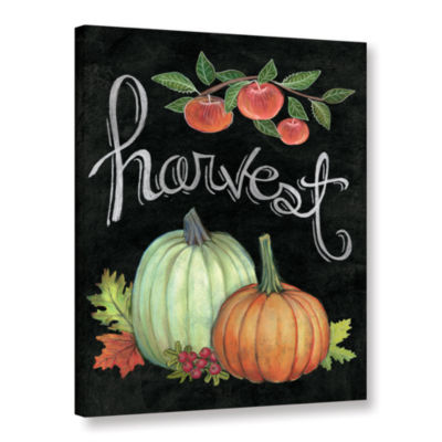 Brushstone Autumn Harvest IV Gallery Wrapped Canvas Wall Art