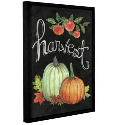 Brushstone Autumn Harvest IV Gallery Wrapped Floater-Framed Canvas Wall Art