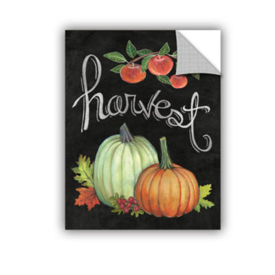 Brushstone Autumn Harvest IV Removable Wall Decal