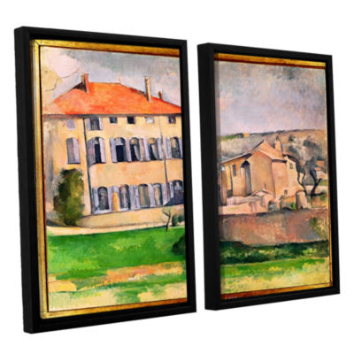 Brushstone Jas de Bouffan 2-pc. Floater Framed Canvas Wall Art