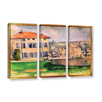 Brushstone Jas de Bouffan 3-pc. Gallery Wrapped Canvas Wall Art