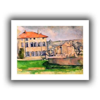 Brushstone Jas de Bouffan Canvas Wall Art