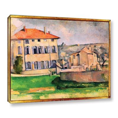 Brushstone Jas de Bouffan Gallery Wrapped Canvas Wall Art