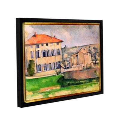 Brushstone Jas de Bouffan Gallery Wrapped Floater-Framed Canvas Wall Art