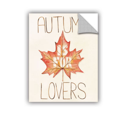 Brushstone Autumn Love II v2 Removable Wall Decal