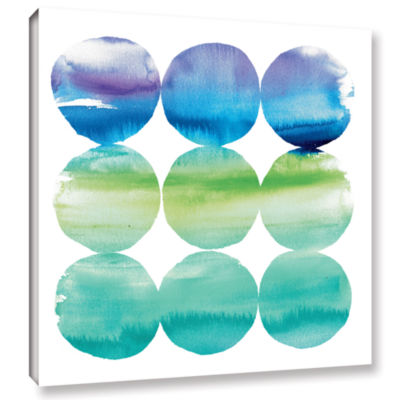 Brushstone Summer Dots II Gallery Wrapped Canvas Wall Art