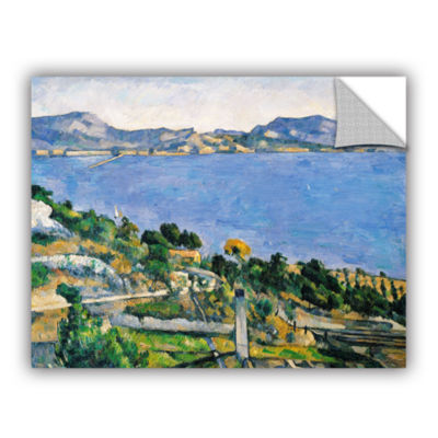 Brushstone L'Estaque of The Bay of Marseilles Removable Wall Decal