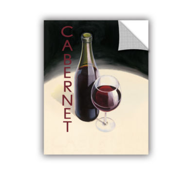 Brushstone Cabernet 1 Removable Wall Decal
