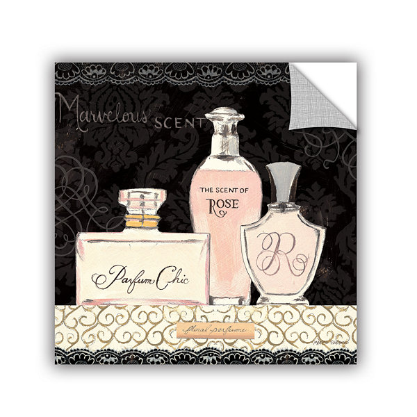 Brushstone Les Parfums Removable Wall Decal