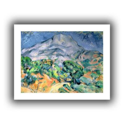 Brushstone Mont Sainte-Victoire Canvas Wall Art