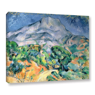 Brushstone Mont Sainte-Victoire Gallery Wrapped Canvas Wall Art
