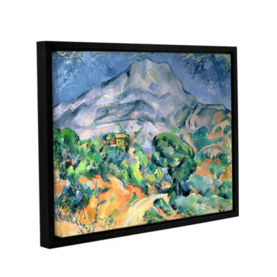 Brushstone Mont Sainte-Victoire Gallery Wrapped Floater-Framed Canvas Wall Art