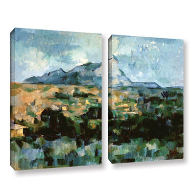 Brushstone Montagne Sainte-Victoire 2-pc. GalleryWrapped Canvas Wall Art