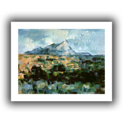 Brushstone Montagne Sainte-Victoire Canvas Wall Art