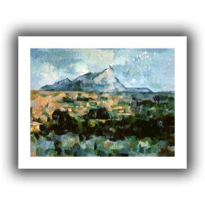 Brushstone Montagne Sainte-Victoire Canvas Wall Art