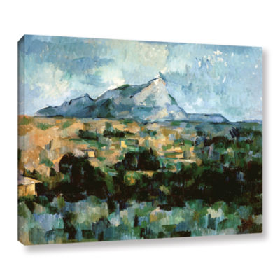 Brushstone Montagne Sainte-Victoire Gallery Wrapped Canvas Wall Art