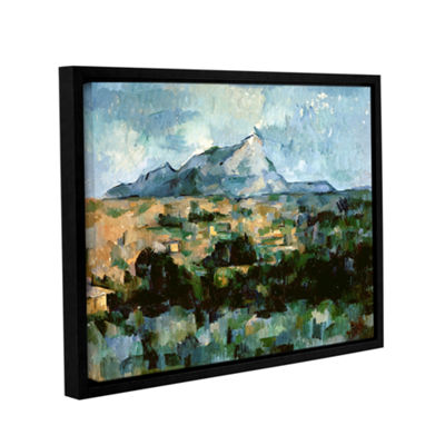 Brushstone Montagne Sainte-Victoire Gallery Wrapped Floater-Framed Canvas Wall Art
