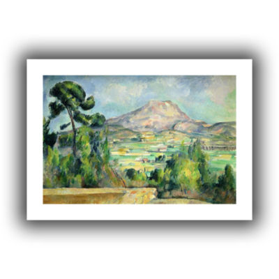 Brushstone Montagne Sainte-Victoire II Canvas WallArt
