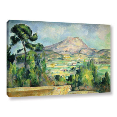 Brushstone Montagne Sainte-Victoire II Gallery Wrapped Canvas Wall Art