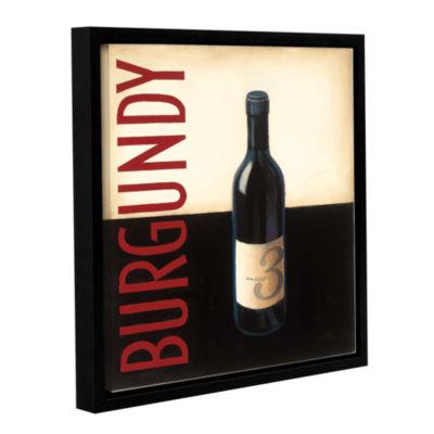 Brushstone Vin Morderne II Gallery Wrapped Floater-Framed Canvas Wall Art