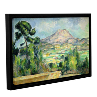 Brushstone Montagne Sainte-Victoire II Gallery Wrapped Floater-Framed Canvas Wall Art