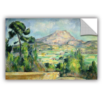 Brushstone Montagne Sainte-Victoire II Removable Wall Decal