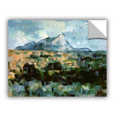 Brushstone Montagne Sainte-Victoire Removable WallDecal