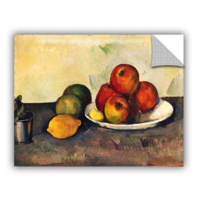 Brushstone Still Life with Apples Removable Wall Decal