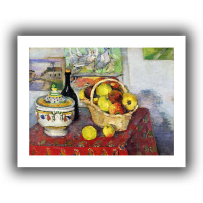Brushstone Still Life with Tureen Canvas Wall Art