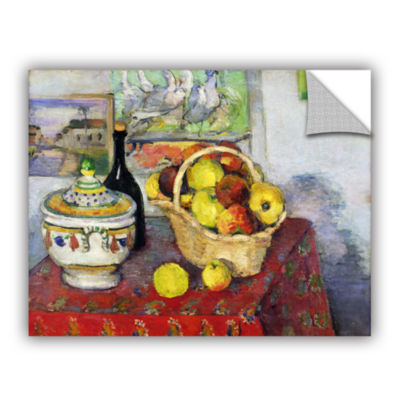 Brushstone Still Life with Tureen Removable Wall Decal
