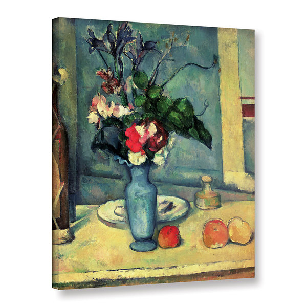 Brushstone The Blue Vase Gallery Wrapped Canvas Wall Art