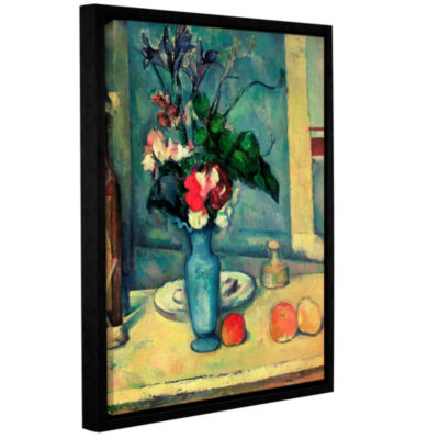 Brushstone The Blue Vase Gallery Wrapped Floater-Framed Canvas Wall Art