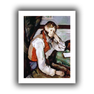 Brushstone The Boy in The Red Waistcoat Canvas Wall Art