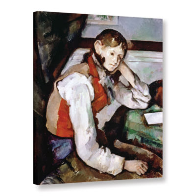 Brushstone The Boy in The Red Waistcoat Gallery Wrapped Canvas Wall Art