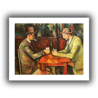 Brushstone The Card Players Canvas Wall Art