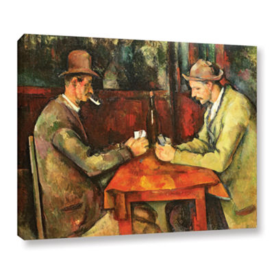 Brushstone The Card Players Gallery Wrapped CanvasWall Art