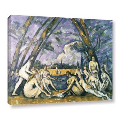 Brushstone The Large BaThers Gallery Wrapped Canvas Wall Art