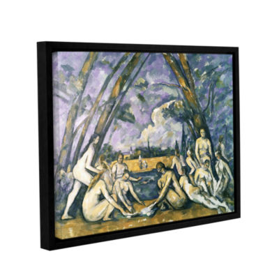 Brushstone The Large BaThers Gallery Wrapped Floater-Framed Canvas Wall Art