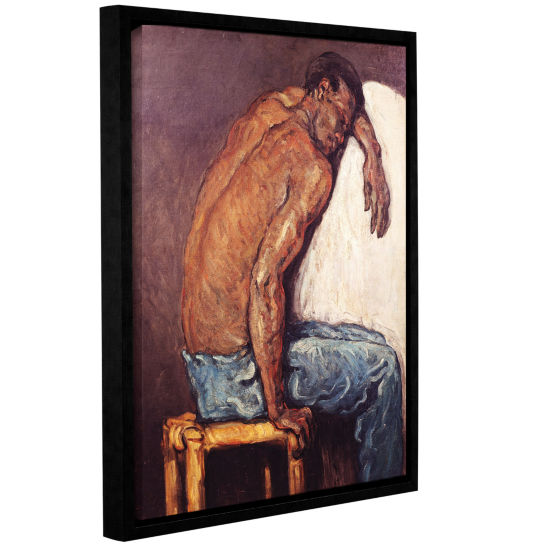 Brushstone The Negro Scipion Gallery Wrapped Floater-Framed Canvas Wall Art