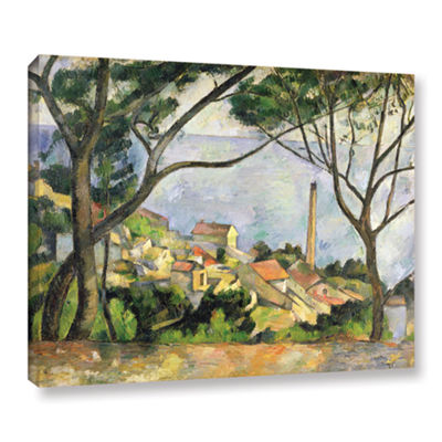 Brushstone The Sea at I'Estaque Gallery Wrapped Canvas Wall Art