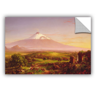 Brushstone Mounta Etna  1842 Removable Wall Decal